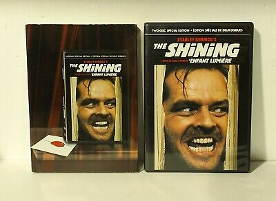 The Shining (DVD, 2007, 2-Disc Set, Special Edition, Canadian) nr mint SLIPCOVER