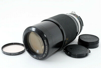 【AS IS】Nikon Nikkor Auto Ai 80-200mm f/4.5 Zoom Lens From Japan T1062