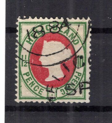 Helgoland 14a Perfectly Stamped + Signed 35eur B7179