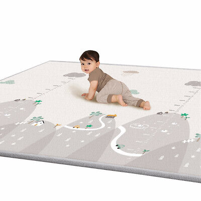 Soft Baby Play Mat Infant Thick Cotton Cushion Kids Floor Rug Crawling Dote