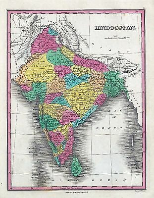 INDIA 65 maps INDIAN history VILLAGES towns antique GENEALOGY old HINDUSTAN DVD
