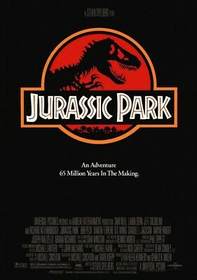 JURASSIC PARK Movie PHOTO Print POSTER Film Art Steven Spielberg Dinosaur 001