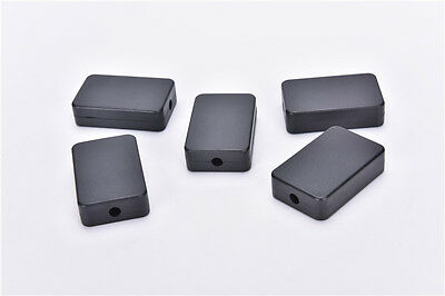 5pcs Electric Plastic Black Waterproof Case Project Junction Box 48*26*15mm L fn