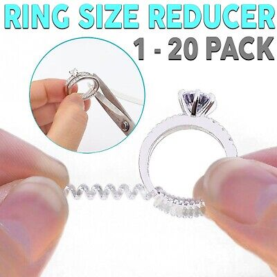 Ring Size Adjuster Reducer Spiral Invisible Snugs Guard Jewellery Resizer Tool
