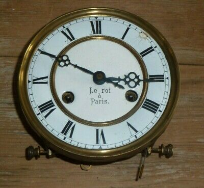 FMS German wall clock movement c1930 for spares