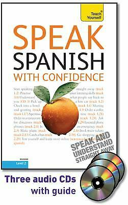 Speak Spanish with Confidence with Three Audio CDs: A Teach Yourself...  (ExLib)