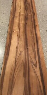 "Red Gum Wood Veneer- Smoked: 6 Sheets (39"" X 9"") 14 Sq Ft"