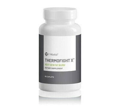 It Works! Thermofight X 60 Capsules -Next Gen Fat Burn- Free Shipping