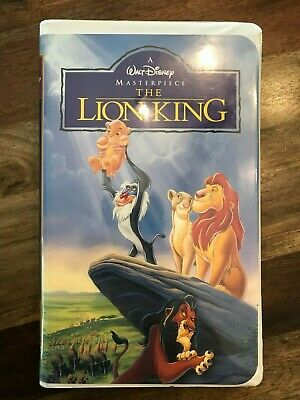 The Lion King Masterpiece Walt Disney VHS 1995 FREE SHIPPING
