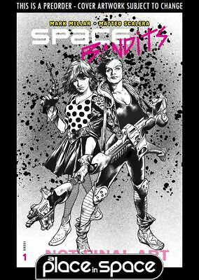 (Wk27) Space Bandits #1G - Charest Variant - Preorder 3Rd Jul