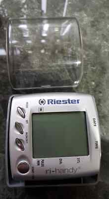 Riester Digital Blood Pressure Wrist Monitor 1731 Battery Power new unused