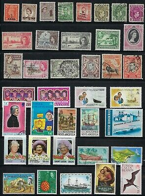 British Colonies - Collection of  Mint & used Stamps......# 19 N 08