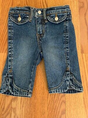 The Childrens Place Girls Capri Jeans. Size 3 T Good Condition