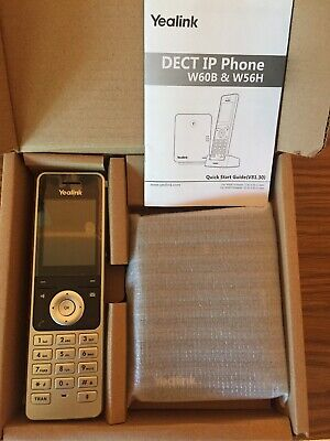 Yealink W60P IP Phone - DECT - VoIP Open Box All Components Working