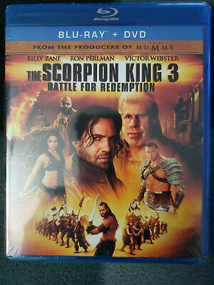The Scorpion King 3: Battle for Redemption (Blu-ray/DVD, 2012, 2-Disc Set,)