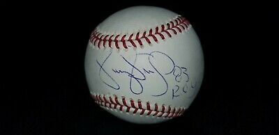 Darryl Strawberry Legend Authentic Hand Signed Autographed Oml Baseball Tristar
