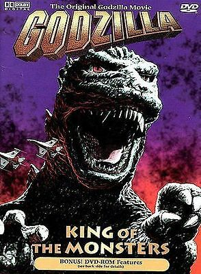 Godzilla, King of the Monsters - Dolby Digital -  (DVD, 1998) - OOP/Rare - Mint