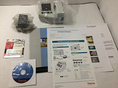 Thermo Scientific NanoDrop Lite Spectrophotometer - BRAND NEW, FACTORY SEALED