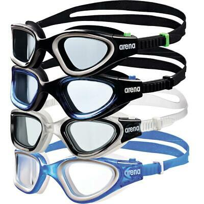 Arena Adult Training Goggles Envision Wide Angle Lens Swimming