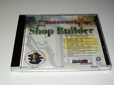 Internet Shop Builder 2.0 CD-ROM Win 95,98, NT