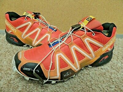 SALOMON SPEEDCROSS 3 CS Trail Running Shoes Men's Size 10 M