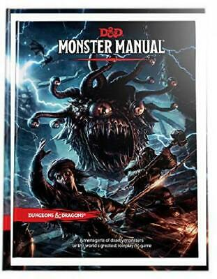 Dungeons & Dragons Monster Manual (Core Rulebook, D&D Roleplaying Game)...