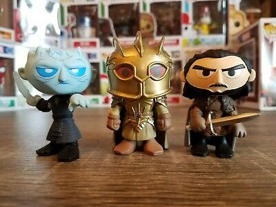 Funko Mystery Mini HBO Game of Thrones Series 4 LOT The Mountain + Night King +1
