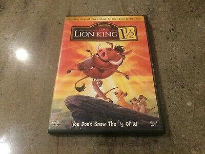 2 Walt Disney The Lion King + Lion King 1 1/2 (3 discs) Platinum Edition DVD