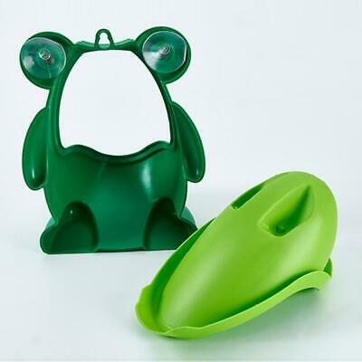 Frog Potty Toilet Children Training Kids Urinal for Boy Pee Trainer Bathroom BN