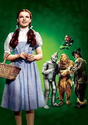 THE WIZARD OF OZ Movie PHOTO Print POSTER Textless Film Art Judy Garland Cast 03