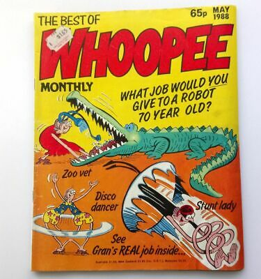 The Best of Whoopee Monthly May 1988 Collectable Childrens Kids Humour Comic UK