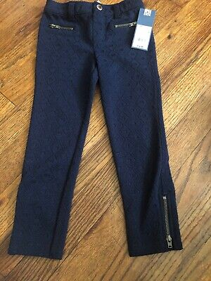 New With Tags Genuine Kids From OshKosh Blue Leggings Size 4t