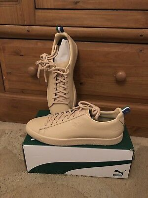 cheap for discount 84a63 294c3 PUMA CLYDE X BIG SEAN Limited Edition Mens Trainers Size UK9.5 Vachetta RRP  £95