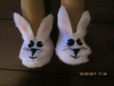 "18 Inch Doll Clothes//Bunny Slippers Fits 18/"" Dolls Set Toys Gifts Gift I6I6"