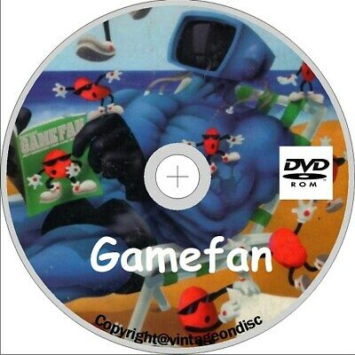 Gamefan Magazine 88 Assorted Issues on Dvd Rom
