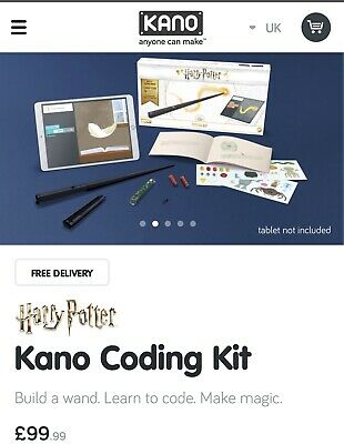 1990ca0c8 KANO HARRY POTTER Coding Kit Build your own Harry Potter Wand ...