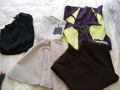 Bulk x 4 Dress pants ASOS, Hot option, 90 degre, WetSeal Size 10 NEW and USED