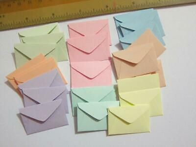 "Tooth Fairy miniature little envelopes (1""x1-1/2"") BUY IN BULK! cute tiny small"