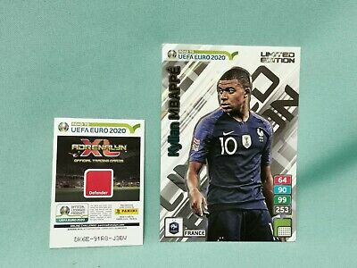 Panini Road to Uefa Euro 2020 Adrenalyn XL - Mbappe  XXL Limited Edition