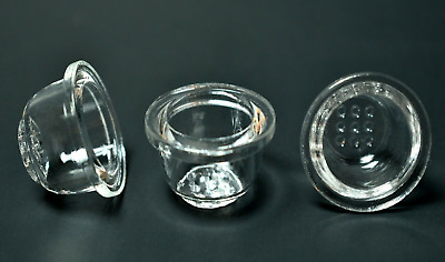 3X Tobacco Replacement Glass Bowl for Silicone Pipe