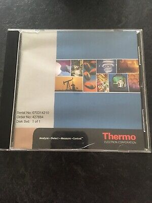 Thermo Electron Corp FTIR And NIR  Libraries CD