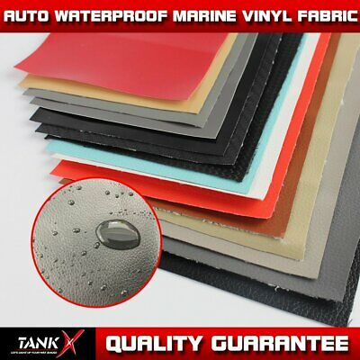 54''W Marine Vinyl Fabric Faux Leather Boat Car Furniture Anti-UV Protected