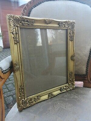 Gold Gilt Effect Antique Style Photo Picture Frame 12x10 ornate vintage