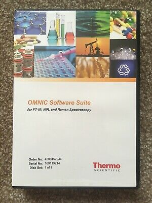 Thermo Electron Corp FTIR Libraries  CD