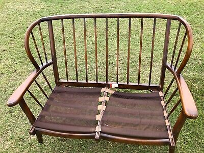 Vintage/Retro Ercol? Two Seater Bent Wood Sofa/Settee Delivery Possible