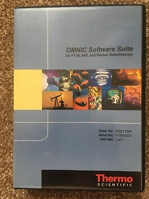 Thermo Scientific Omnic FTIR And Raman Libraries Software
