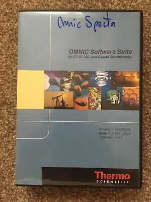Thermo Scientific Omnic Specta For Raman Plus Libraries