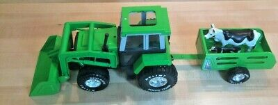 Nylint Tractor, Front-End Loader, Wagon & Cows: Ol' Mac Nylint's Farm