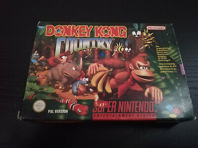 Donkey Kong Country  Super Nintendo SNES OVP