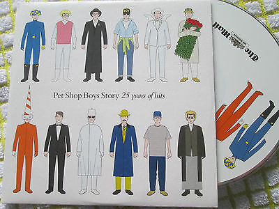 Pet Shop Boys ‎Story (25 Years Of Hits) Upfront ‎– UPPSB001 UK PROMO CDAlbum